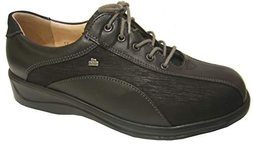 Chaussures pour Femme à de Noir Ville Comfort Lacets Noir Finn 6nO7pqx5