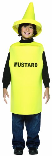 Rasta Imposta Lightweight Mustard Children's Costume, 7-10, Yellow