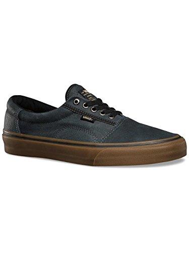 7ab03295f9 Vans Men s Rowley Pro (Solos) Black Gum Skate Shoe 8.5 Men US - Buy ...