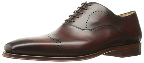 Magnanni Mens Zeen Oxford Mid Brown