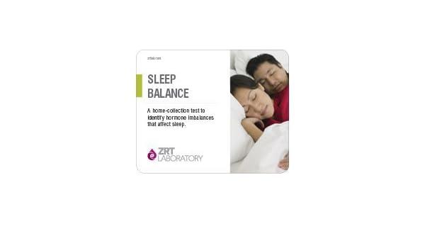TestCountry/ZRT Laboratory unisex-adulto Kit de Equilibrio del sueño Perfil Inicio de prueba (orina seca: diurnos de melatonina (Mt6S x 4), cortisol libre ...