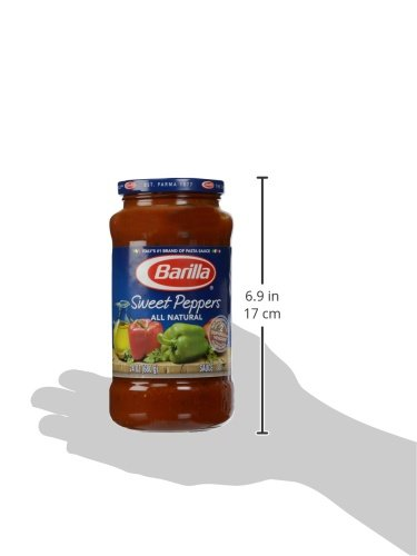 Amazon.com : Barilla Pasta Sauce, Sweet Peppers, 24 oz : Grocery & Gourmet Food