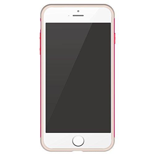 BASEUS Magnetic Ring Finger Grip Holder Mobile Tasche Hüllen Schutzhülle - Case für iPhone 7 Plus 5.5 inch (TPU + PC) - Rose