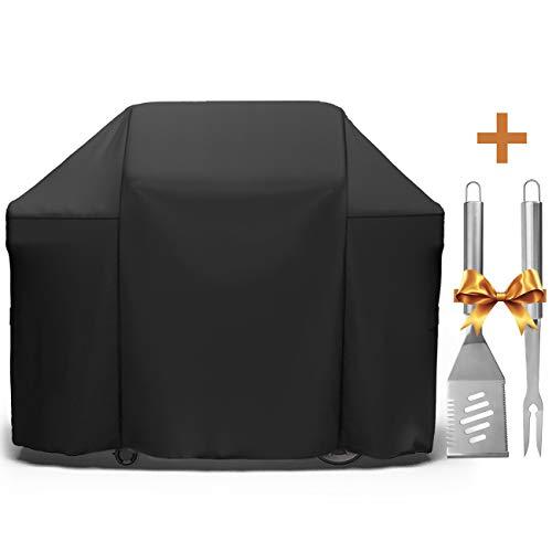 (SHINESTAR 7130 Grill Cover for Weber Genesis II 3 Burner Grill and Genesis 300 Series Grill 310/330, 58-Inch Grill Cover for Char-Broil Performance 4-Burner Grill and Ducane Affinity 4-Burner)