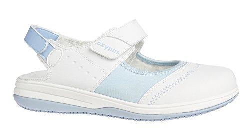Oxypas Melissa, Women's Safety Shoes, White (Lbl), 5 UK (38 EU)