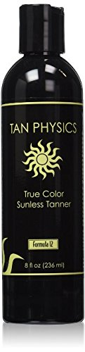 Tan Physics True Color w/ 5 FREE pairs of application gloves/ Sunless Tanner 8 fl oz