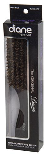 Diane Dbb107 Wave Hair Brush 100% Boar With Wood Handle, 9 Inch