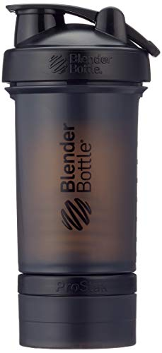 BlenderBottle ProStak System with 22-Ounce Bottle and Twist n' Lock