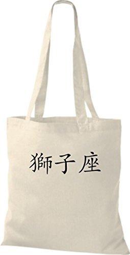 Shirtinstyle - Bolso de tela de algodón para mujer - natural