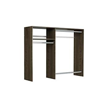 easy track 3 39 5 39 w basic hanging kit closet storage truffle home kitchen. Black Bedroom Furniture Sets. Home Design Ideas