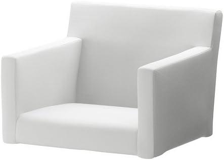 Ikea Nils Housse Pour Chaise Avec Accoudoirs Blekinge Blanc