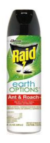 Raid Earth Options Ant and Roach, 15.5 Ounce