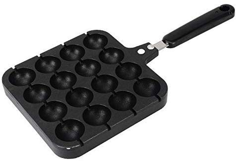 Buy Cheap ALDKitchen Poffertjes Iron | Mini Dutch Pancakes Maker for Round-Shaped Poffertjes | Porta...