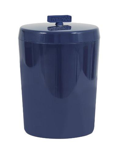 Wetnoz 23575 Tidbits Treat Jar for Pets, Indigo