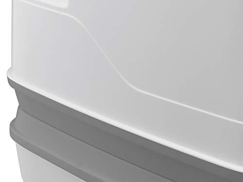 31A9dpTojnL Thetford 92802 Porta Potti 145 Tragbare Toilette Qube, Weiß-Grau, 330 x 383 x 427 mm