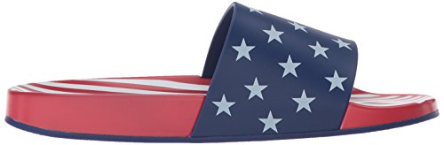 WoMen Sandal Blue White Perry Betsy Katy Slide Red The Axa5nwfq