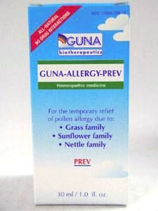 Guna, Inc  - GUNA-Allergy-Prev 30 ml