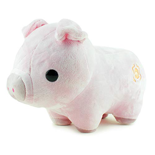 Bellzi Pink Pig Stuffed Animal Plush Toy - Adorable Toy Plushies and Gifts! - Piggi -