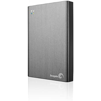 Seagate Wireless Plus 1TB Portable Hard Drive with Built-in WiFi (STCK1000100)