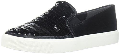 Sam Edelman Womens Elton Sneaker Black Paillettes