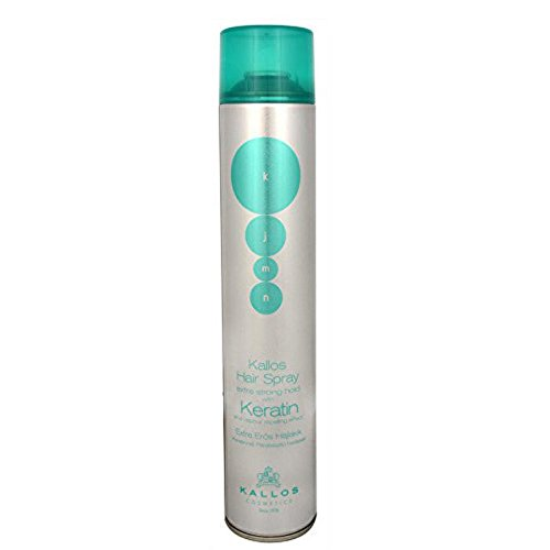 Kallos Hair Spray Extra Strong Hold With Keratin Laca - 750 ml 35850