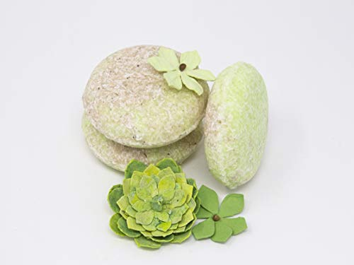 Shampoo Bars: Includes 3 Shampoo Bars Only (this is the Shampoo only Refill to the Combo Pack). All Natural, Safe for Color Treated Hair, SLS Free
