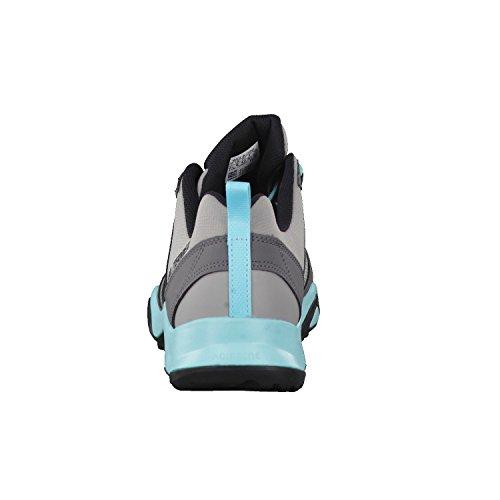 Adidas Terrex Ax2R W, Scarpe da Escursionismo Donna, Grigio (Grpumg/Negbas/Granit), 44 EU