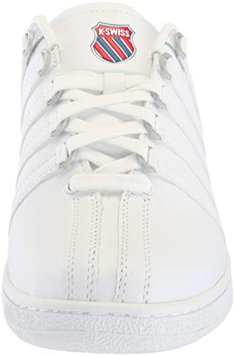 Swiss Blanc K Sneakers Basses Red VN White Ribbon Blue 130 Heri Classic Homme Classic d0q6wqnA