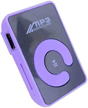 Mini Mirror Clip MP3 Player Portable Sport USB Digital Music Player SD TF Card Rodalind