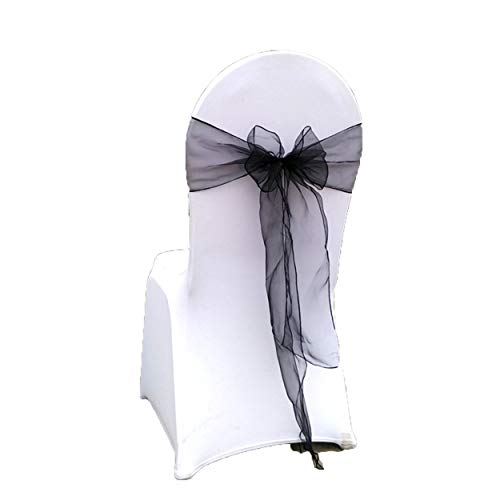 Special Bridal Chair Sashes Chair Cover for Party Pack of 25 Pieces 7