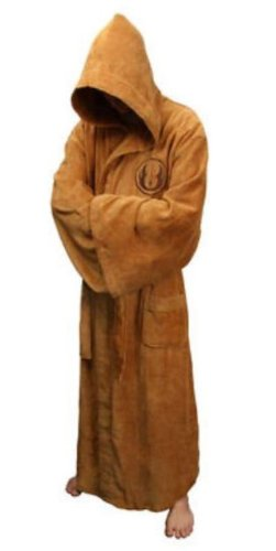 81fd7a28c8 Star Wars Jedi Knight Adult Fancy Dress   Bath Robe - ONE SIZE ...