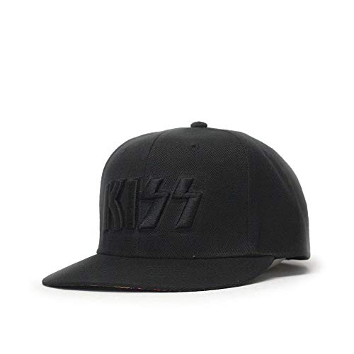 KISS Classic Rock Band Adjustable Baseball Cap (Neon -