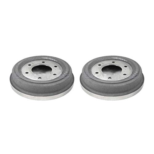 AutoDN Front Brake Drum 2PCS For 1965-1968 Datsun 520 Pickup