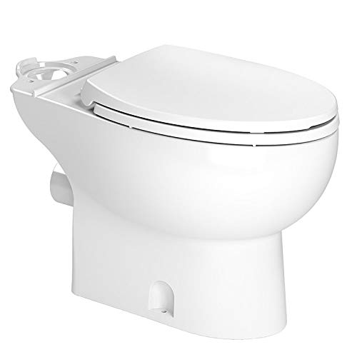 SANIFLO 087 EL WHITE TOILET BOWL ONLY INCLUDES SOFT CLOSE TOILET SEAT MC353299