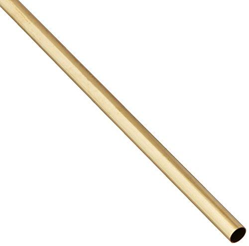 K & S PRECISION METALS 8133 5/16 x 12 Round Brass Tube