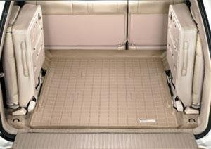 1998-2007 Toyota Land Cruiser Tan WeatherTech Cargo Liner [For Vehicles with 3rd Row Seats] - 3rd Row Seat Vehicles
