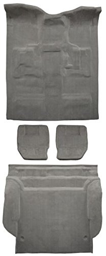 2007 to 2010 Cadillac Escalade Carpet Custom Molded Replacement Kit, Complete Kit, 4 Door With 2nd Row Bucket Seats (8835-Medium Beige Plush Cut Pile)