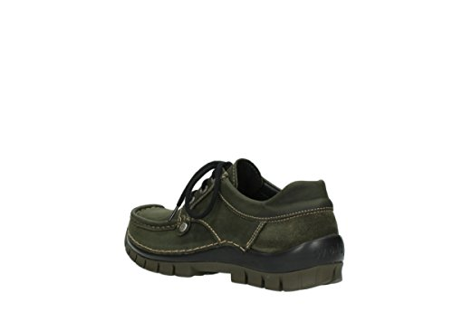 Up Geöltem Fly grün 11732 Forest 04734 Nubuk nbsp;seamy comodidad Wolky Lace Zapatos 7vWAqwnfEg