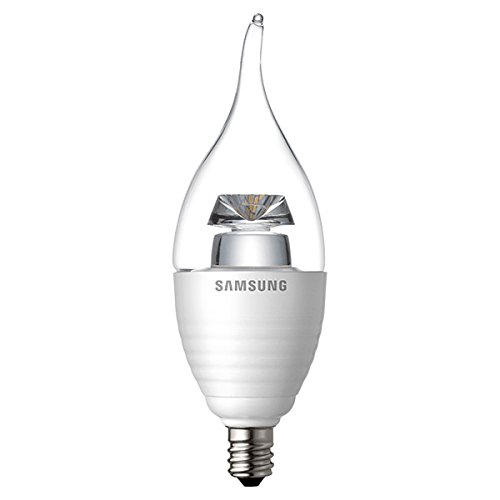 Samsung 5.2W (40W) 2700K Flame Tip Candle SI-A8W052180US ()