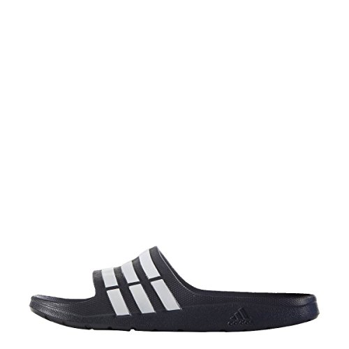 Navy Duramo Ouverts Bleu New Sandales White Bouts Adidas Slide Adulte Unisexes Pour Navy new 0InvFTHq