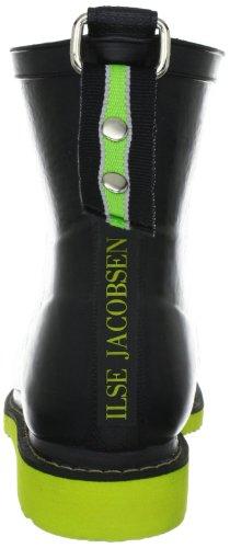 Ilse Jacobsen Kurzer RUB33, Bottes de pluie femme Noir - Schwarz (Schwarz Limette 0142)
