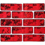 Christmas Classic Corrugated Brick Roll Wrap, Chimney Prop