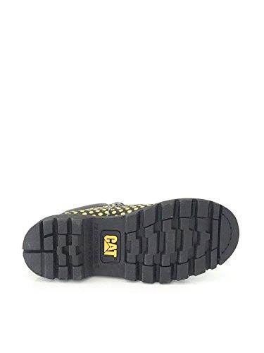 CAT Caterpillar Damenschuh Boots schwarz/gelb gepunktet Größe 38