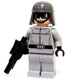 LEGO Star Wars LOOSE Figure AT-ST Pilot Driver