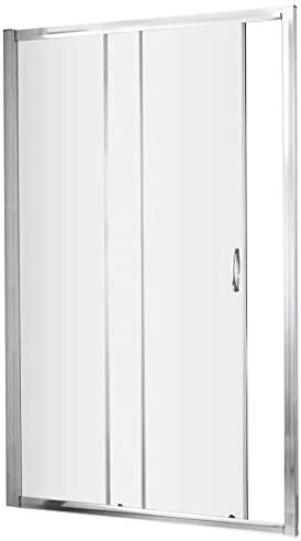 VeeBath Fenwick moderno cuarto de baño ducha 1200 mm deslizante ...