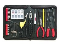 Belkin 36-Piece Demagnatized Computer Tool Kit with Case (Black) - F8E066 ()