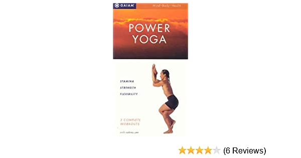 Amazon Com Power Yoga For Beginners 3 Pack Stamina Strength Flexibility Vhs Instructor Rodney Yee Movies Tv