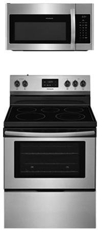 Frigidaire 2-Piece Kitchen Package with FFEF3052TS 30