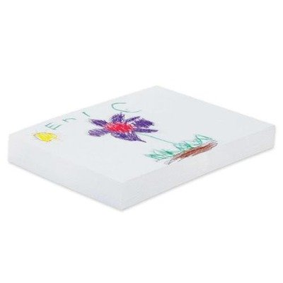 Pacon Ecology Recycled Drawing Paper - 500 Sheet - 60 lb - 18quot; x 24quot; - 500/Ream - White Paper