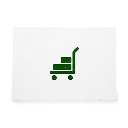 (Trolley Cargo Cart Haul Moe Style 5210, Rubber Stamp Shape great for Scrapbooking, Crafts, Card Making, Ink Stamping Crafts)